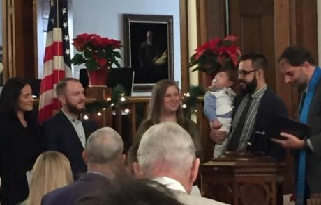 Baptism at 1st Presbyterian Church